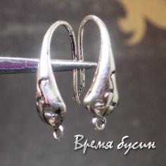Швензы крючки под серебро (1 пара)