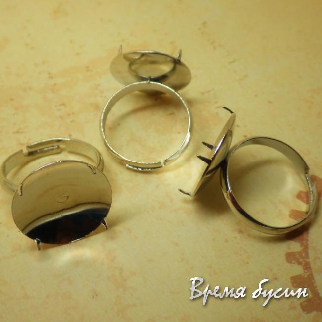 Основа для кольца с цапами