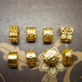 Стопперы. Цвет светлое золото