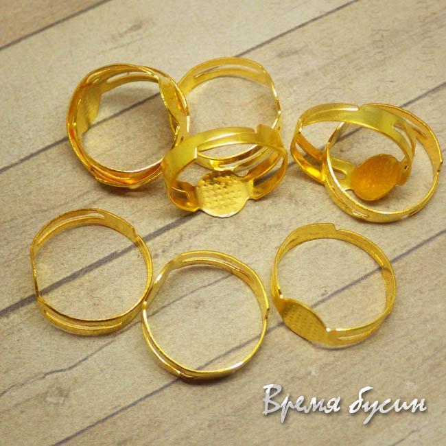 Основа для кольца под золото