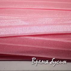 Резинка широкая эластичная, 15 мм (1 м.) РОЗОВЫЙ