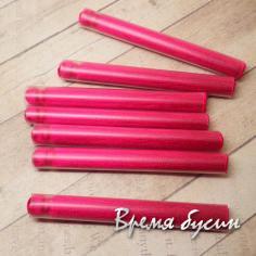 Кисти из шелковой нити 6,5 см., цвет МАЛИНОВЫЙ (2 шт.)