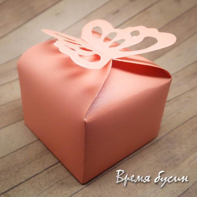 Коробочка подарочная складная