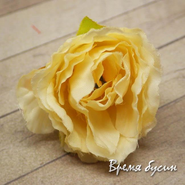 "Цветок из ткани ""Роза"", 35 мм (1 шт.)"