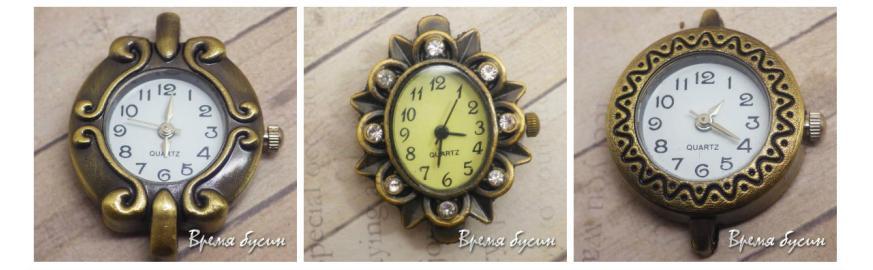Часы под бронзу