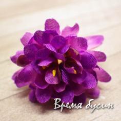 """Цветок из ткани """"Астра"""", 30 мм (1 шт.)"""