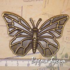Элемент из филиграни. Бабочка под бронзу