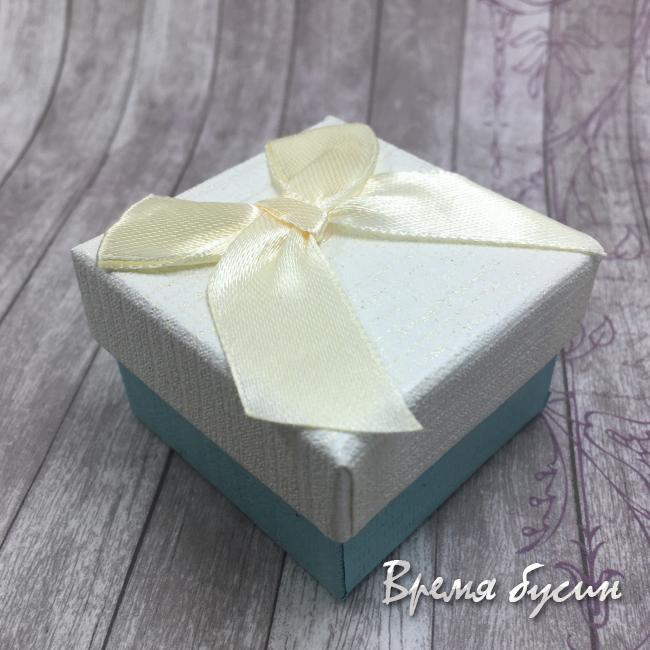Коробочка подарочная квадратная 6х6 см