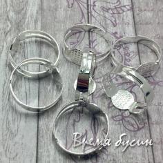 Основа для кольца под серебро (1 шт.)