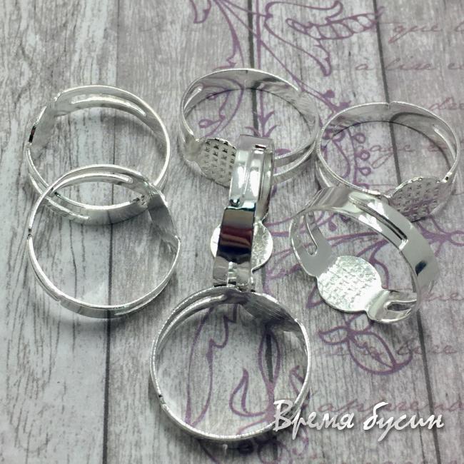 Основа для кольца под серебро
