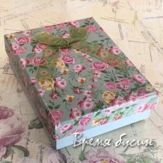 Коробочка подарочная прямоугольная 7х9 см