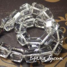 Кубики из граненого стекла 10 мм (1 шт.) ПРОЗРАЧНЫЙ