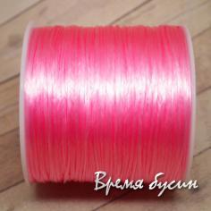 Резинка плоская цветная, спандекс, эластичная нить 0,7 мм (10 м.)