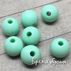 Бусина из пищевого силикона, шарик 9 мм (1 шт.)