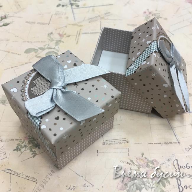Коробочка подарочная с рисунком.