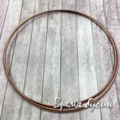 Основа для колье жесткая, латунь с покрытием под медь (1 шт.)