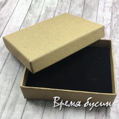 Коробочка крафтовая, цв. бежевый 7х9х3 см. (1 шт.)