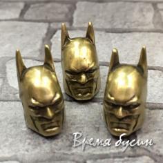 """Бусина """"Бэтмен"""", латунь с покрытием под бронзу  (1 шт.)"""