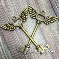 Ключ. Подвеска под бронзу (1 шт.)