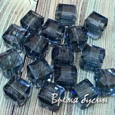 Кубики из граненого стекла 10 мм (1 шт.) ТАНЗАНИТ