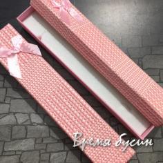 Коробочка подарочная квадратная 21х4х2 см