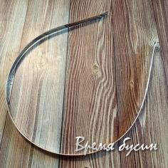 Основа для ободка, 5 мм, цв. никель (1 шт.)