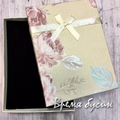 Коробочка подарочная квадратная 11х16 см