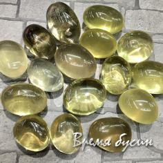 Лимонный кварц, галтовка из натур. камня весом 5-7 гр.      (1 шт.)