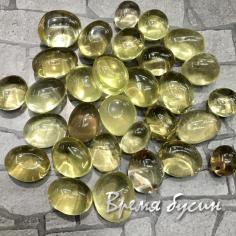 Лимонный кварц, галтовка из натур. камня весом 2-3 гр.      (1 шт.)