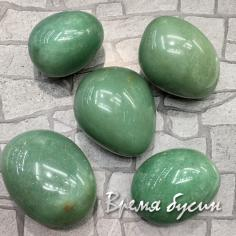 Авантюрин зеленый натур., галтовка из натур. камня    весом 35-37 гр.  (1 шт.)