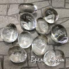 Горный хрусталь, галтовка из натур. камня весом 8-10 гр.     (1 шт.)