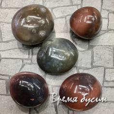 Агат, галтовка из натур. камня весом 30-32 гр.      (1 шт.)