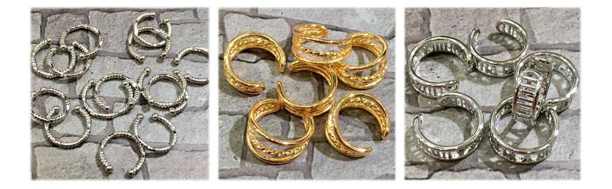 Каффы, зажимные кольца