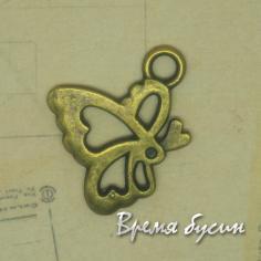 Бабочка. Подвеска под бронзу