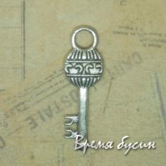 Ключ. Подвеска под серебро.