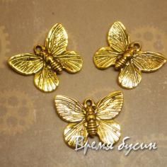 Бабочка. Подвеска под золото.